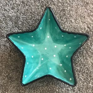 Other - Polka Dot Star Bowl